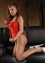 Incredibly hot Carmen stripping